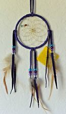 Native American Navajo Dream Catcher Hanging Wall Ornament Wall  4 inches Diamet