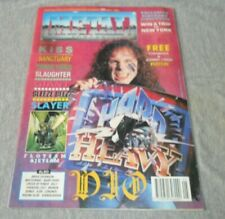 Magazine Metal Forces #50 May 1990 UK 71Pages New W/Poster [Dio Kiss Slayer]