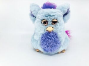 RARE Complete PURPLE BLUE PINK FUNKY FURBY 2005 2006 TIGER TALKING TOY HASBRO