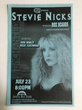 Stevie Nicks~Boz Scaggs~Nm- Orig 1998 Concert Flyer Handbill~Phoenix~Fleet Mac