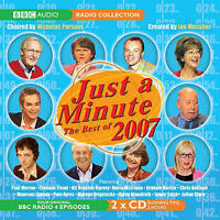 Just a Minute : The Best of 2007 / Ian Messiter CD Audio BBC Radio 4 Episodes