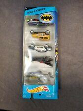 2015 Hot Wheels CDT28 Batman 5-Pack New in Package