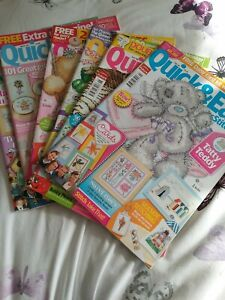 6 X Quick and Easy Cross Stitch Magazines