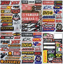 New Yamaha Factory  StickersDecalsMotocross  Bike and  Car Racing 6 Sh. YS01