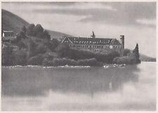 D3637 France - Abbazia di Altacomba - Stampa d'epoca  - 1940 vintage print