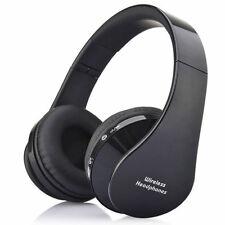 Casque Arceau Pliable Sans fil Bluetooth + Prise 3,5mm Mini-jack Audio + Microph