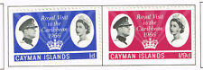 Cayman Islands Royal Visit to Carribean set 1966 MLH