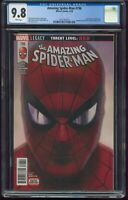 Amazing Spider-Man 796 CGC-GRADED 9.8 NEAR MINT/MINT WHITE PAGES APRIL 2018 G81