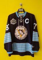 🐧 PITTSBURGH PENGUINS #87 SIDNEY CROSBY VTG REEBOK NHL JERSEY MENS- S