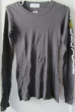 Soul Cycle Long Sleeve Cotton Modal Thermal Tee, SoulCycle Sleeve, Grey, Size L