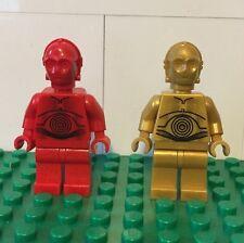 LEGO STAR WARS DROID LOT C3PO R3PO MINIFIGURES