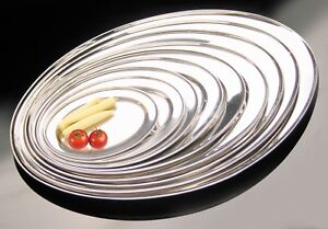 Buckingham Stainless Steel Oval Tray Plate Meat Platter  Serving Dish 20 - 55 cm