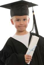Per Bambini Nursery Laurea Abito e Cappello 3-6 ANNI BAMBINI CORO Costume con tappi