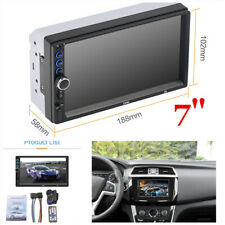 "7"" Double 2Din HD Car MP5 Player In Dash Bluetooth Radio Stereo Touch Screen"