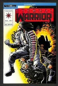 Valiant UNITY Eternal Warrior August No. 1 Animation Cartoon Comic Book (A1739)