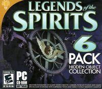 Legends Of The Spirits PC Games Windows 10 8 7 XP Computer hidden object mystery