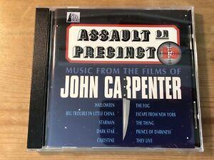 ASSAULT ON PRECINCT 13 - MUSIC FRO... (John Carpenter) OOP 1992 Soundtrack CD EX