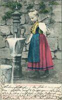 Ansichtskarte Hessische Volkstrachten 1906  (Nr.956) -II