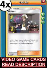 Digital Card 4x Guzma /& Hala193//236 for Pokemon TCG Online