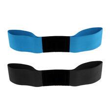 2Pcs Blue+ Black Golf Swing Training Aid Arm Band Wrist Corrector Belt Strap
