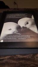Al de Lory Love Story Rare Original Promo Poster Ad Framed!