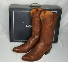 Lucchese Western Boots Nicole N4774 Antique Rust Size 10