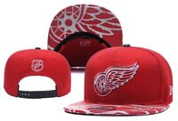 Detroit Red Wings NHL Hockey Embroidered Hat Snapback Adjustable Cap