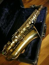 ,,Chu Berry'' ~ Goldene Vintage Alto Saxophon C.G Conn New Wonder II ~ USA