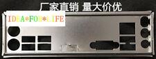 NEW I/O IO Shield backplate For MSI H61M-E33 (G3) Z77A-G41 B75A-G41 #T4139 YS