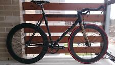Beltdrive carbon race fixie/track/fixed gear complete bike - Leader EQNX