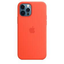 NEW Original Apple MagSafe Silicone case cover iPhone 12 Pro Max Electric Orange