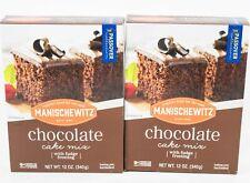 2 Manischewitz Chocolate Cake Mix w/ Fudge Frosting 12 oz  12/10/2021 Kosher