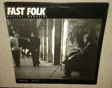 FAST FOLK MUSIC MAGAZINE & VINYL LP / MINT VOL 3 NO 2 1986, MINT MAGAZINE