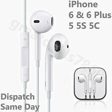 Genuine Apple iPhone 5 5S iPhone 6 Headphone Earpods Earphone Handsfree With Mic