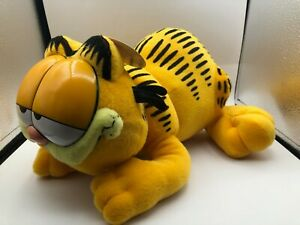 Large Official Garfield Odie Paws Comic Orange Cat Plush Soft Stuffed Toy Animal
