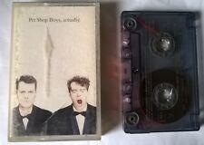 PET SHOP BOYS Actually  K7 cassette audio tape