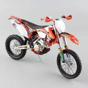 1 12 scale KTM 350 EXC-F AMV DHL Motorcycle Model Motocross enduro dirt bike toy
