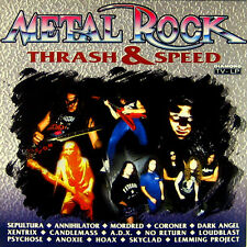 Sampler Metal Rock Thrash & Speed / professionell gereinigt