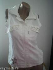 BONITA blusa mujer Talla 40 sin manga NUEVA blouse woman camisa caymaris