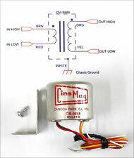 New Cinemag CM-9888 Twin Bobbin Ribbon Mic Output Transformer For RCA 44 Etc C12