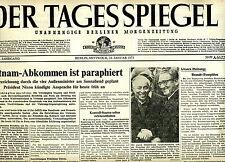 Le Miroir du jour 24.1.1973: vietnam-accord est paraphé [fin guerre du vietnam]