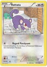 Rattata - N&B:Frontieres Franchies - 104/149 - Carte Pokemon Neuve Française