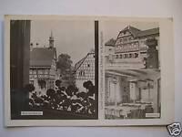 Ansichtskarte Königsbach 1956 Gasthaus Zum Ochsen