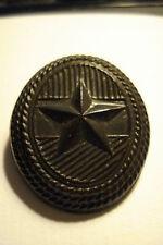 Hungary Hungarian hat badge cochade army subdued Soviet Bakelite Black Army