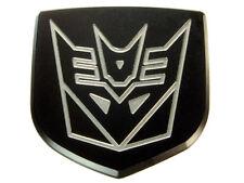 New Dodge Charger Custom Front Emblem Badge - Black Decepticon