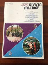 R22> RIVISTA MILITARE - PERIODICO DELL'ESERCITO - N.6 novembre/dicembre 1981