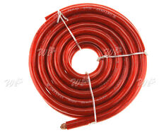 Car Auto 170 Amps 4 AWG Battery Starter Cable Red Positive 5 Meters