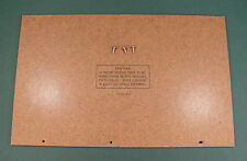 RARE Panasonic/National/Technics SG-1080L REPAIR PART - Bottom Particle Board
