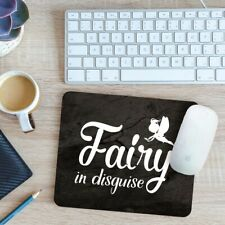 Fairy In Disguise Mouse Mat Pad 24cm x 19cm
