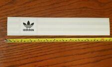 3 pack Adidas Skateboarding Stickers Stripes Trefoil 13 inch